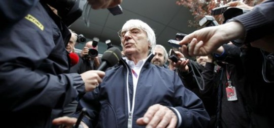 Formula One boss Bernie Ecclestone, Bahrain.