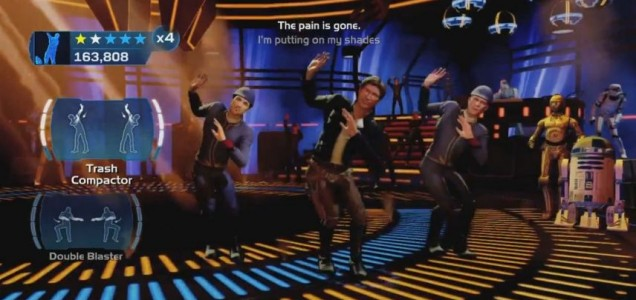 Kinect Star Wars - this is not the Han Solo simulator we're looking for