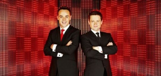 Ant and Dec were the grinning faces at the helm of ITV's Red Or Black? (Picture: ITV)