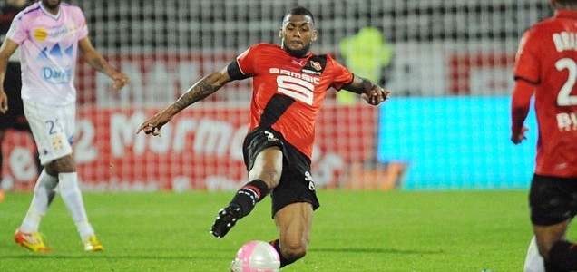 Rennes' midfielder Yann M'Vila