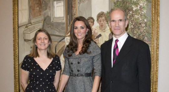Sandy Nairne, Duchess of Cambridge, National Portrait Gallery