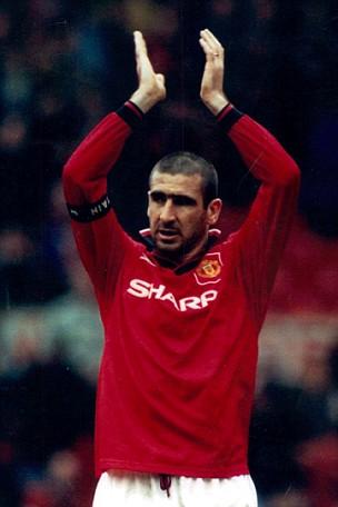 Eric Cantona of Manchester United