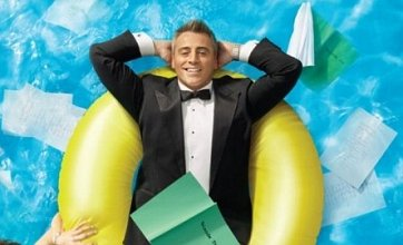 Episodes promo picture sees Matt LeBlanc parody Joey series