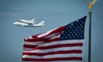 Space shuttle Discovery takes final flight into history