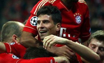 Bayern Munich beat Real Madrid 2-1 in Champions League semi-final first leg