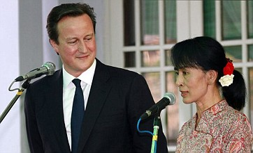 Suu Kyi eyes Britain for historic trip out of Burma