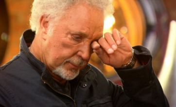The Voice coach Tom Jones moved to tears by Ruth Brown's performance