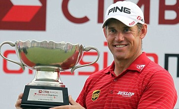 Lee Westwood successfully defends Indonesian Masters title