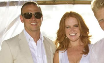 EastEnders star Patsy Palmer renews wedding vows on Caribbean beach