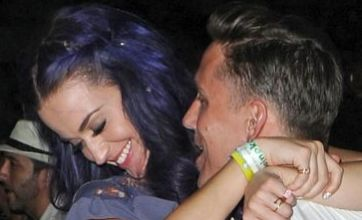 Smitten Katy Perry puts on kissing display with new man at Coachella