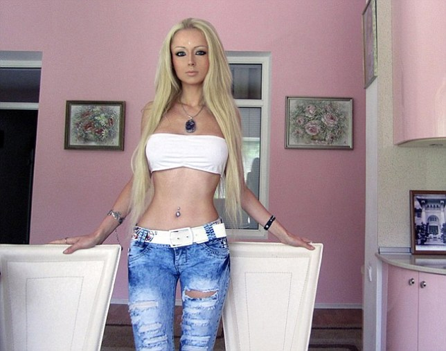 Barbie Valeria Lukyanova Real Life Human Barbie Doll