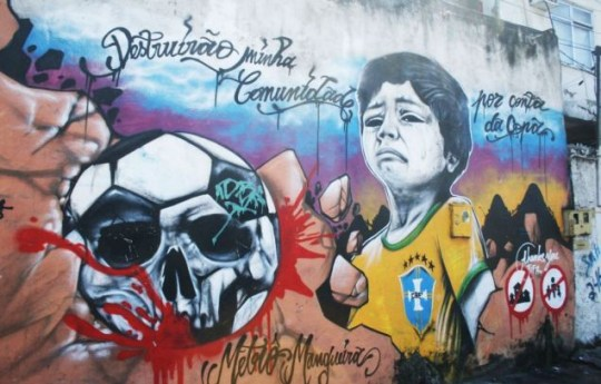 Rio, favelas