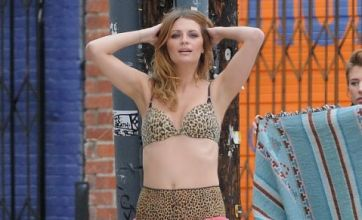'Excited' Mischa Barton strips 'for Noel Gallagher's music video'