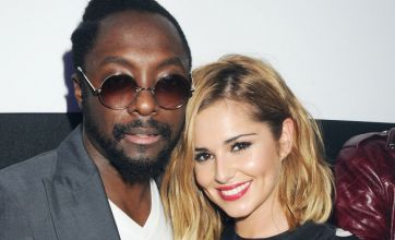 Cheryl Cole supporting Will.i.am with 'home cooking and plenty of advice'