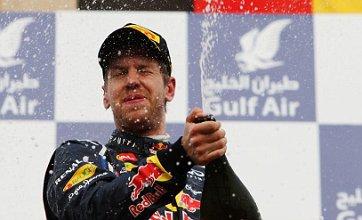 Sebastian Vettel: 'Red Bull aren't as confident in 2012 as we used to be'