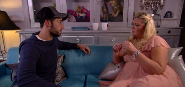 Charlie and Gemma break up in the latest instalment of TOWIE (Picture: ITV)