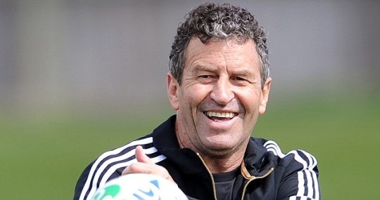 New Zealand All Black assistant coach Wayne Smith