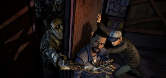 The Walking Dead: Episode 1 (PC) - zombies do not make good draft excluders