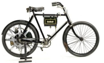 World's first motorbike worth £63 in its day set to fetch £21,000 at auction