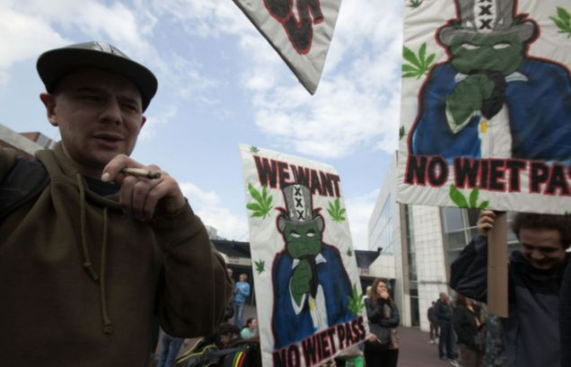 Holland, Amsterdam, cannabis