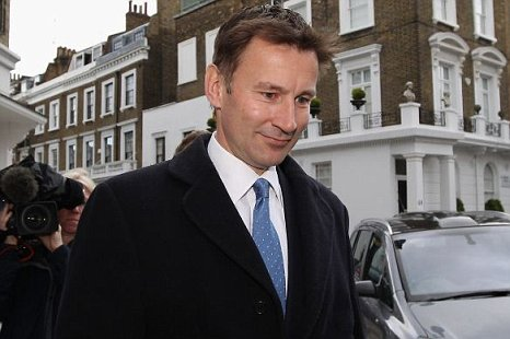 Jeremy Hunt, Secretary of State for Culture, Media and Sport