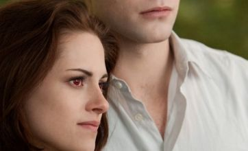 New Twilight: Breaking Dawn 2 photo shows lovers Bella and Edward