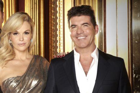 Amanda Holden Simon Cowell Britain's Got Talent
