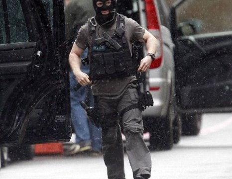 Tottenham Court Road siege was breaking news without breaking sweat