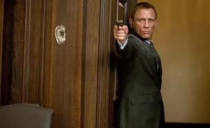 Daniel Craig in the upcoming James Bond film, Skyfall, to be released in October (Allstar)