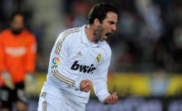 Real Madrid hope to keep hold of Chelsea and Manchester City target Gonzalo Higuain