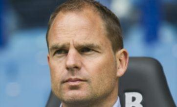 Frank de Boer 'honoured' by Liverpool approach but opts to stay at Ajax
