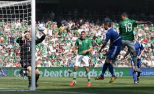 Shane Long scored Ireland's winner against Bosnia-Herzegovina (PA)