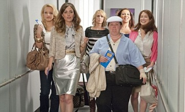Bridesmaids is up for eight prizes at the MTV Movie Awards