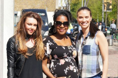 Liberty X to reunite? Michelle, Jessica and Kelli snapped
