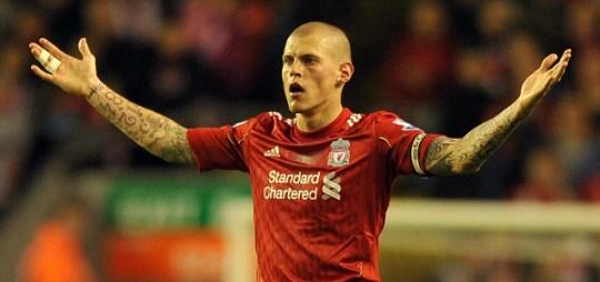 Liverpool's defender Martin Skrtel