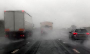 Man, 22, dies after five-vehicle collision on 'flood-alerted' M5