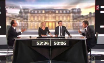 Nicolas Sarkozy v Francois Hollande French presidential debate watched by 19.5m
