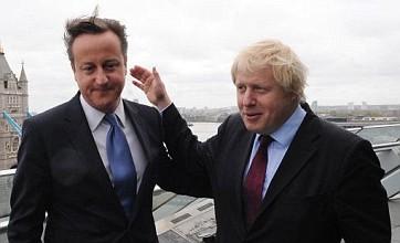 David Cameron 'delighted' by Boris Johnson's London mayoral victory