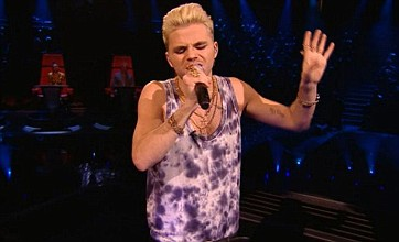 The Voice UK: Vince Kidd wins rave reviews with quirky Elvis tribute