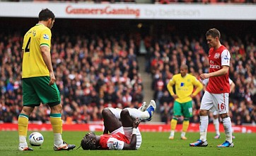 Bacary Sagna accuses Norwich's Bradley Johnson of deliberately breaking his leg
