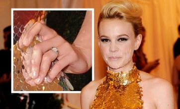 Carey Mulligan shows off wedding ring for first time at NYC Met Gala