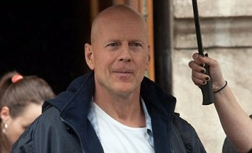 Bruce Willis takes to Budapest streets to shoot A Good Day To Die Hard