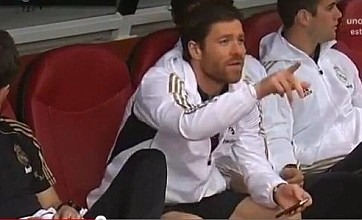 Ex-Liverpool star Xabi Alonso follows FA Cup final from Real Madrid bench