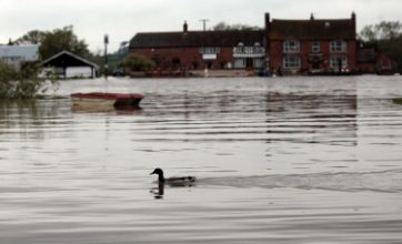 Britain on flood alert after extended period of heavy rainfall