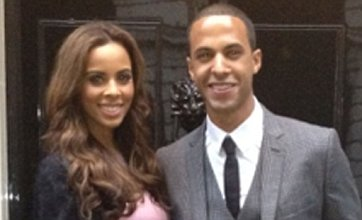 Rochelle Wiseman and Marvin Humes scrub up for trip to 10 Downing Street