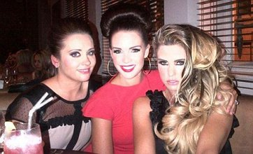 Katie Price sexes up Danielle Lloyd's demure hen party