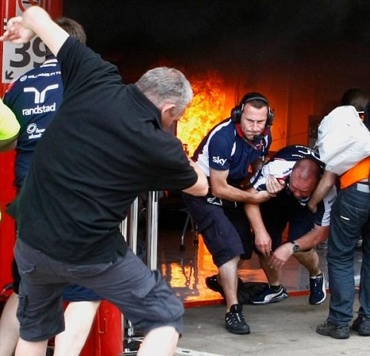 Williams fire