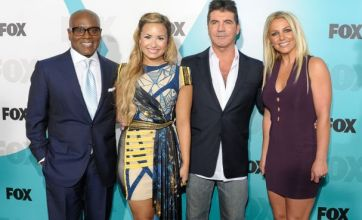 Britney Spears and Demi Lovato join Simon Cowell as X Factor USA judges