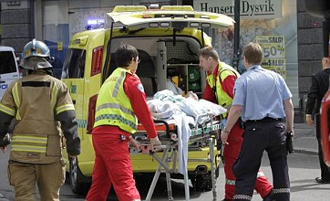 Man sets himself on fire outside Anders Breivik trial in Oslo