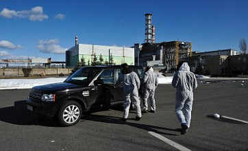 Land Rover's charity drive into the heart of Chernobyl